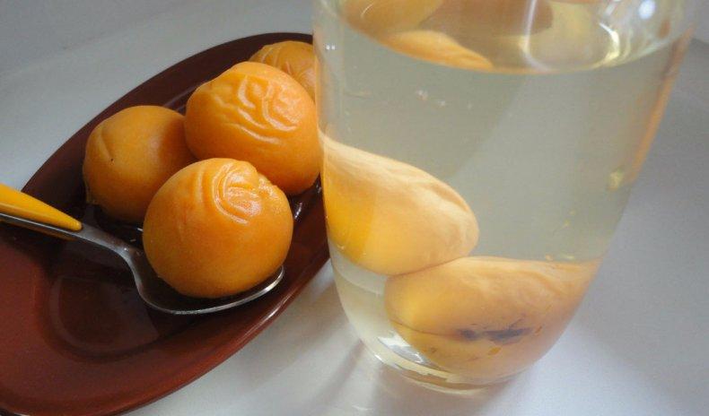 Компот из свежих абрикосов без стерилизации