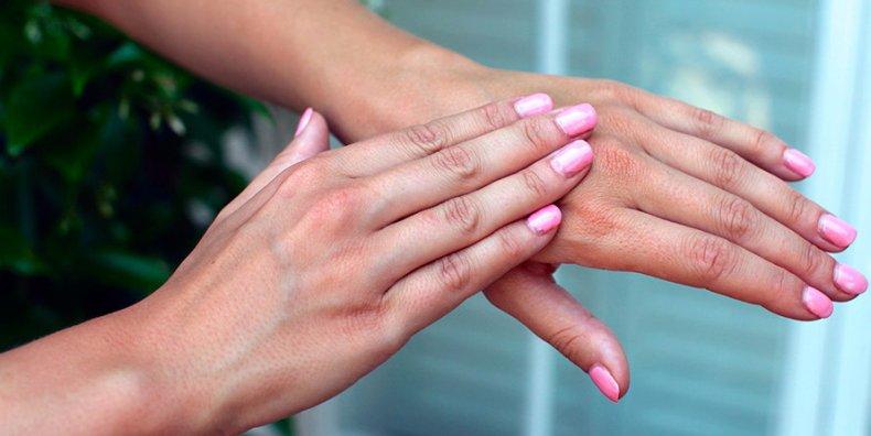 масло для рук и ногтей