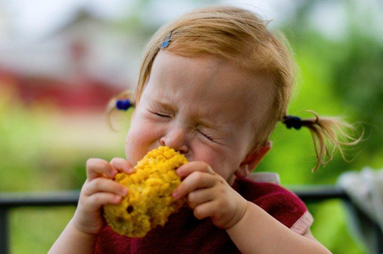 Кукуруза для детей