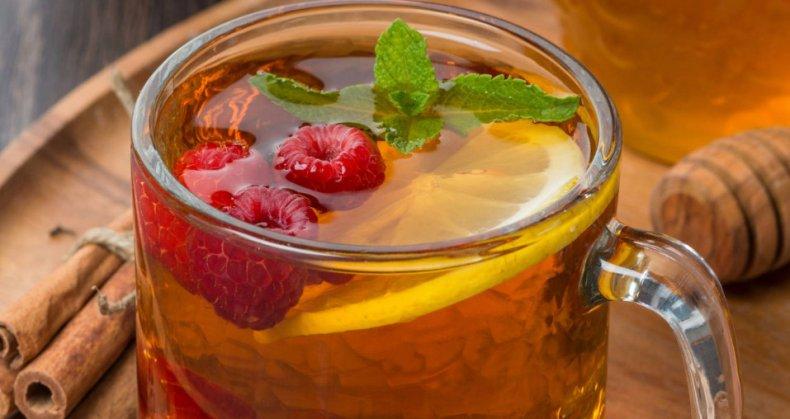 Малиновый чай состав #8