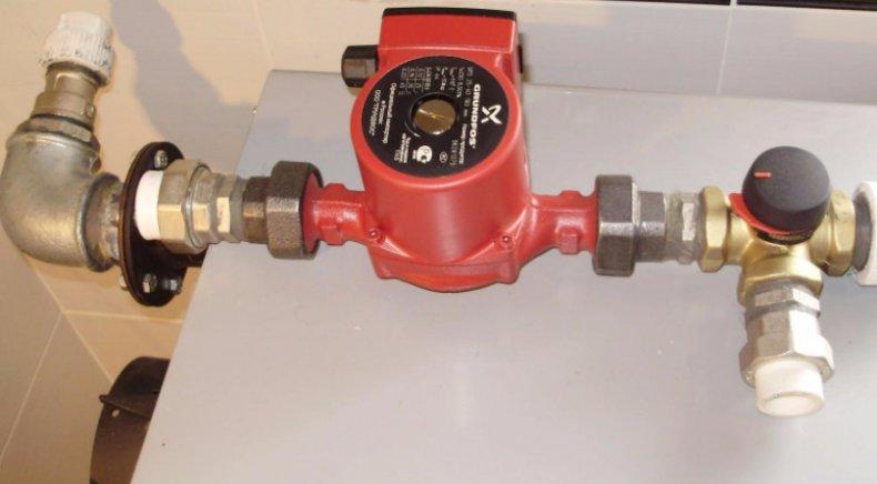 насос, циркуляционный, отопление, инструкция, установка