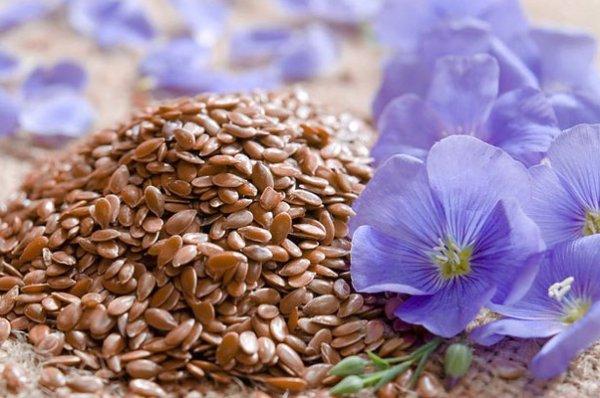 Очищение сосудов семенем льна