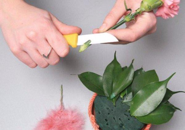 губка для цветов как ею пользоваться процесс