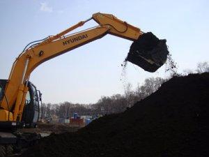 Насыпная почва