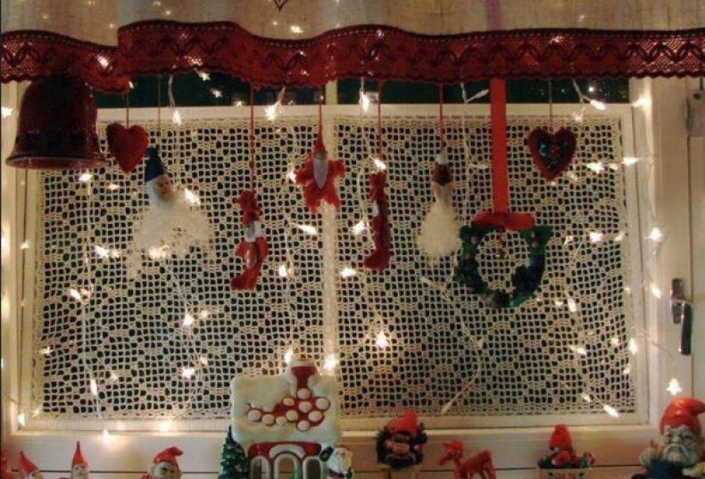 украшение, красиво оформить, ненастоящий снег, поверхности стены, Девятнадцатого века, Нового года