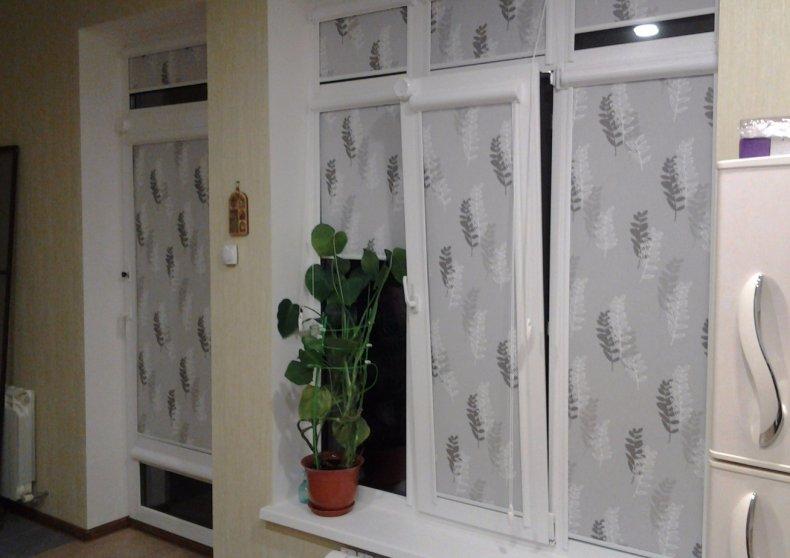 установка, жалюзи, пластиковый, окно