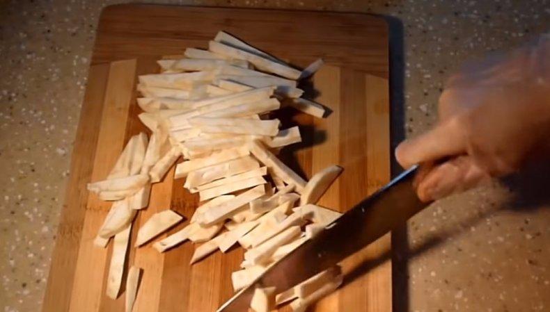 Как приготовить жареный сельдерей
