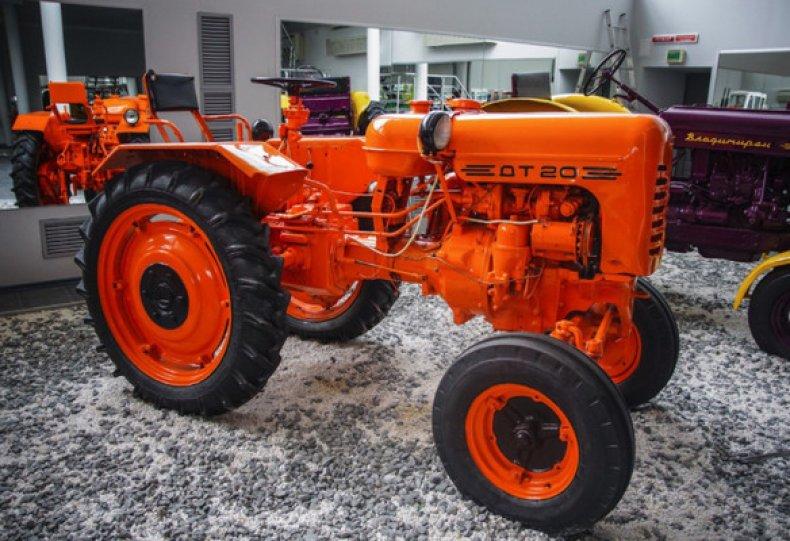 Внешний вид и способности трактора