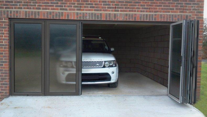 Складные гаражные ворота