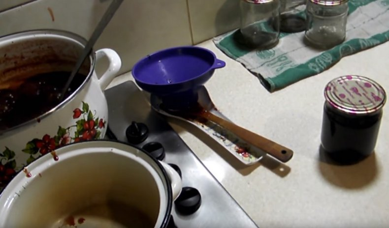 Как приготовить вишневый джем с лимонной кислотой