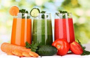 свежевыжатый сок из овощей