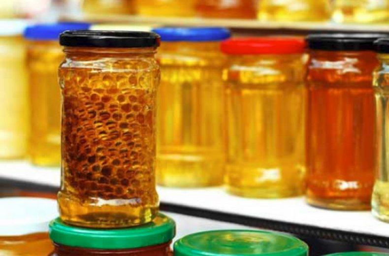 Хранение меда в сотах
