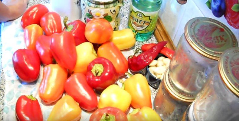 Болгарский жареный перец на зиму простой и вкусный рецепт заготовки