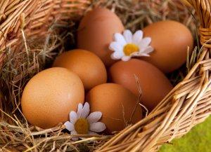 весить, яйцо, куриный, страусиное