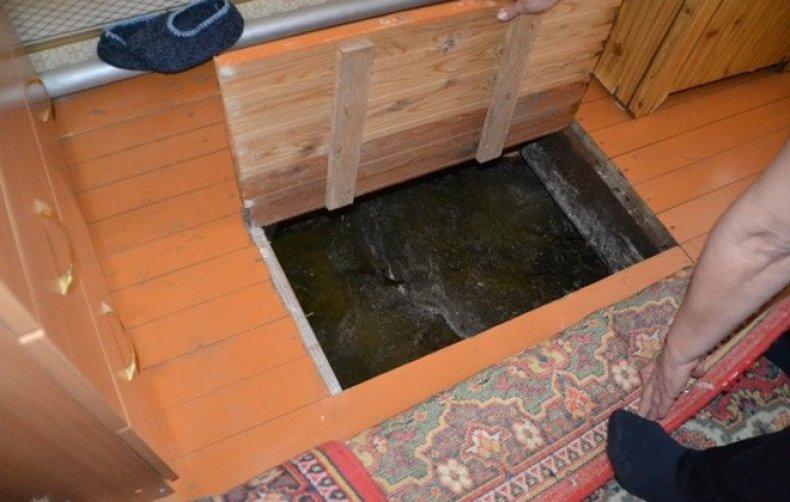 как избавиться от воды в погребе