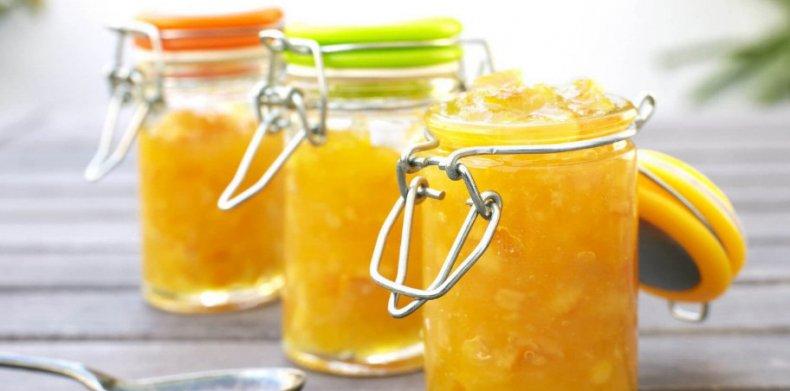 Варенье из апельсинов и банана
