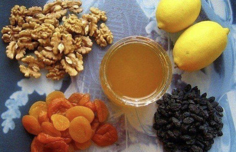 орехи и изюм польза