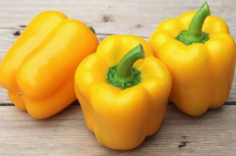 Жёлтый болгарский перец