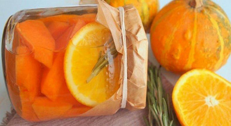 Тыква с апельсином