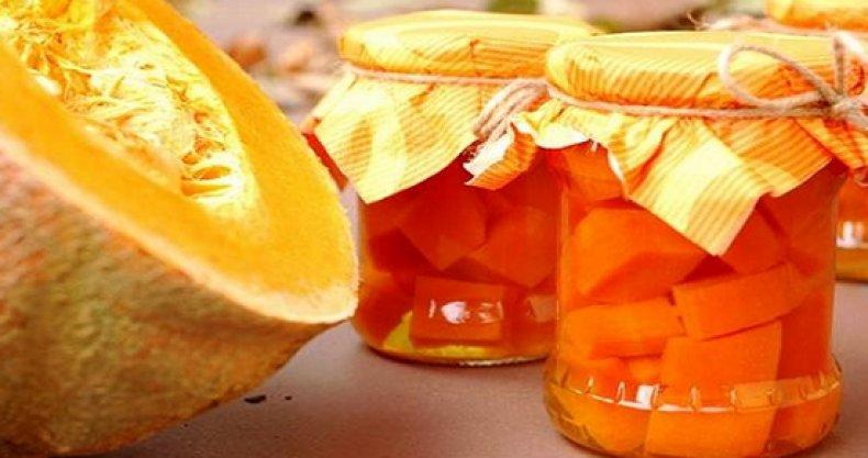 Компот из тыквы и лимона