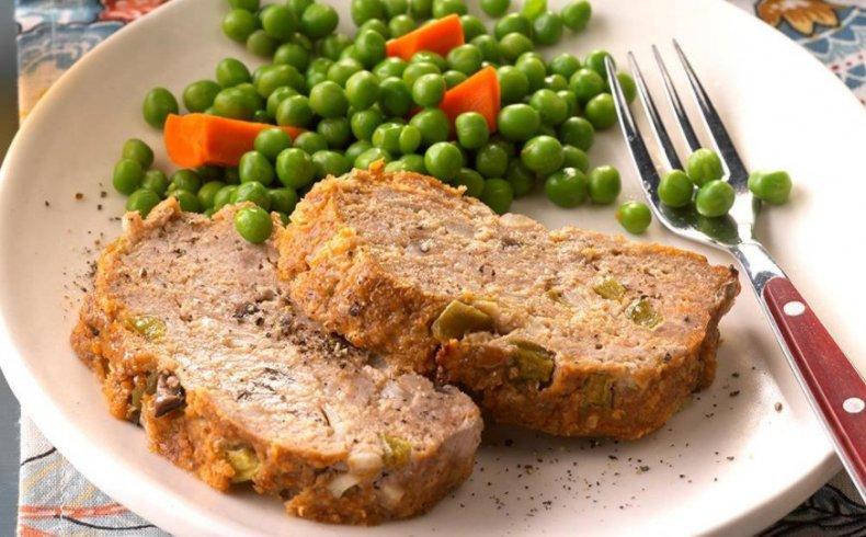 Мясо индейки с овощами