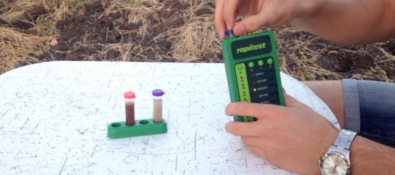 анализ почвы на кислотность