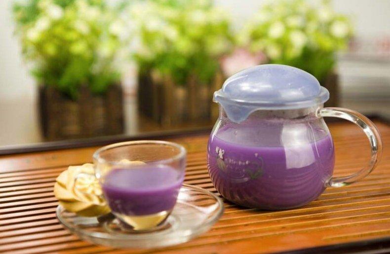 Сок фиолетовой картошки