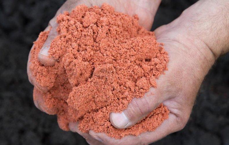 Подкормка калийной солью