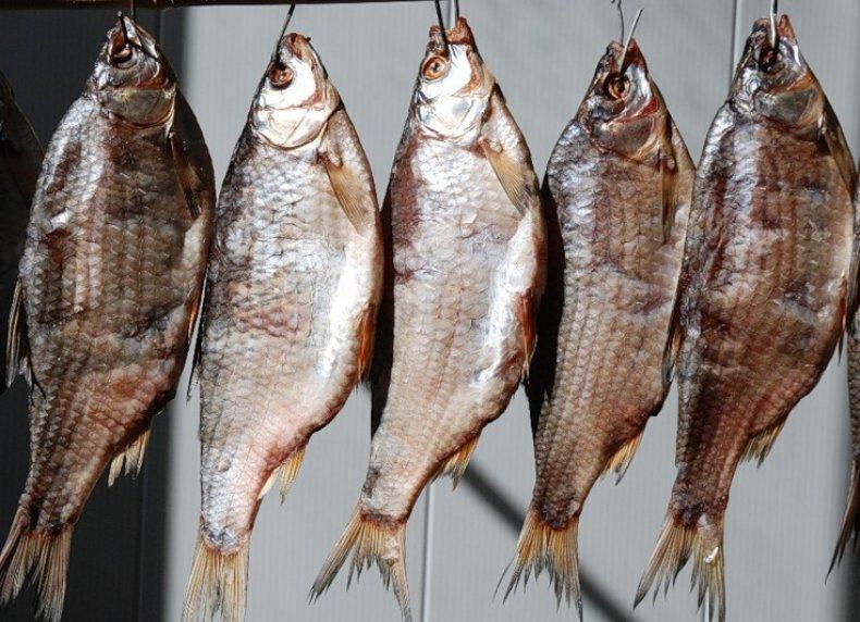 Сушенная рыба