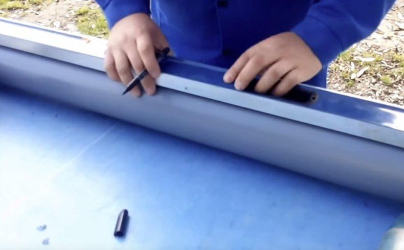 Отмечаем маркером