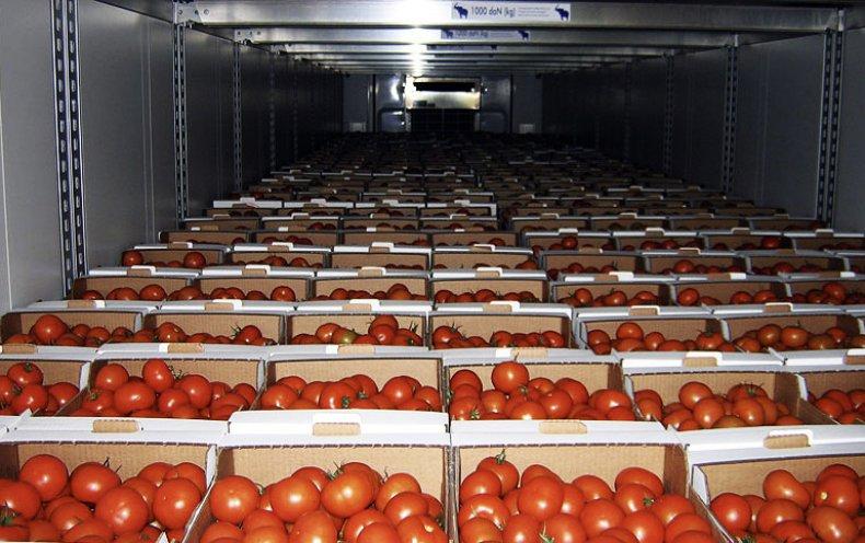 Хранение томатов