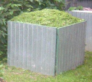 Компостный ящик из шифера