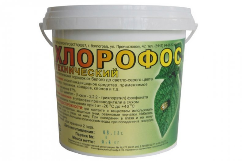 Раствора хлорофоса