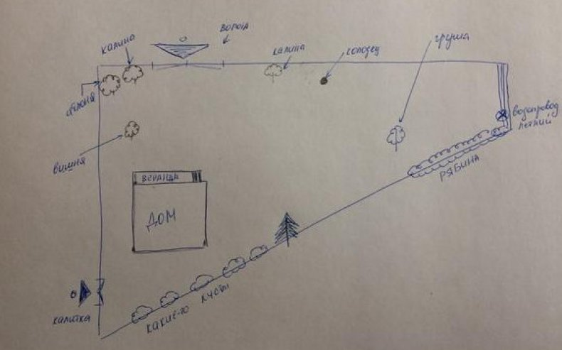 Диагональная планировка