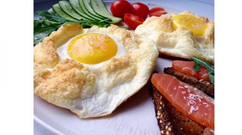 Яйцо индюшиное запеченное