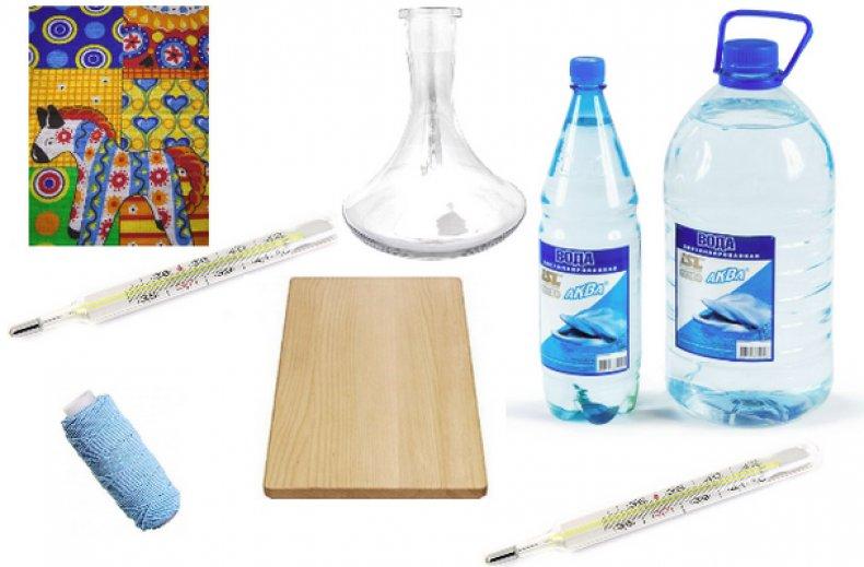 Инструменты и материалы для гигрометра