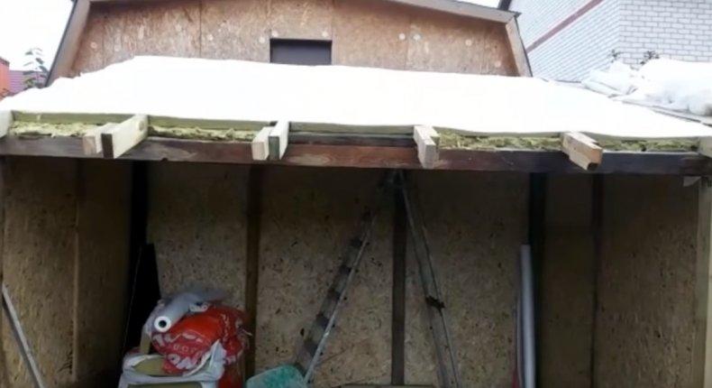 Крыша для утятника своими руками