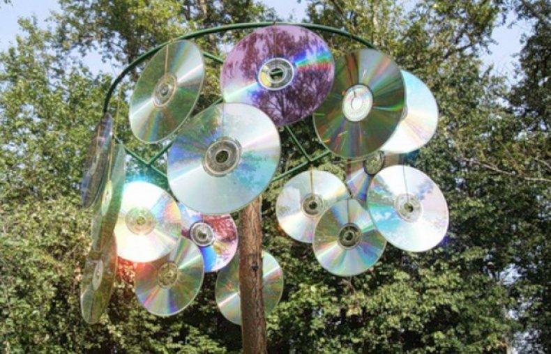 Отпугиватель из дисков