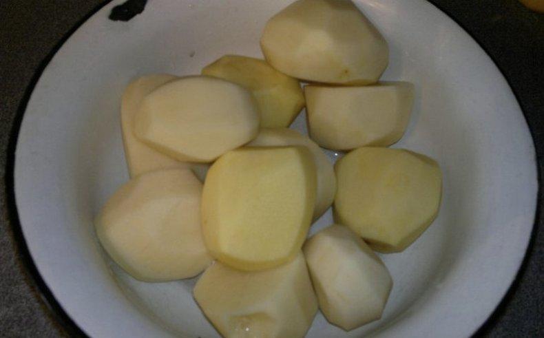 Картофель сырой