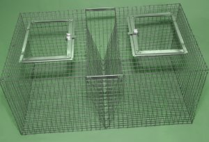 Клетка из сетки для кроликов