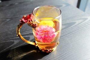 Чай с хризантемы
