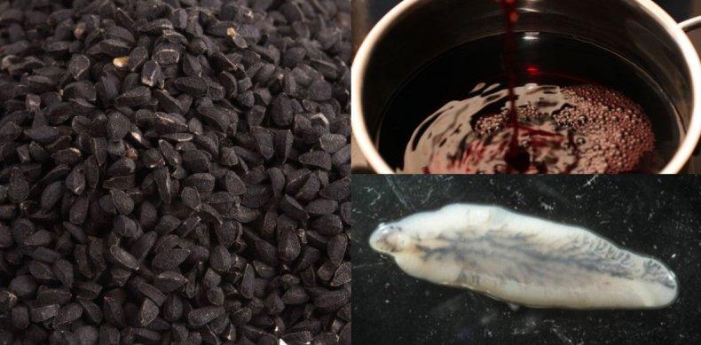 масло, тмин, глист, паразит