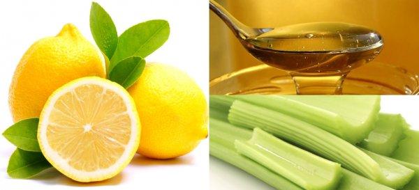 Рецепт сельдерей лимон и мед от артроза. Лечение сельдереем с медом и лимоном