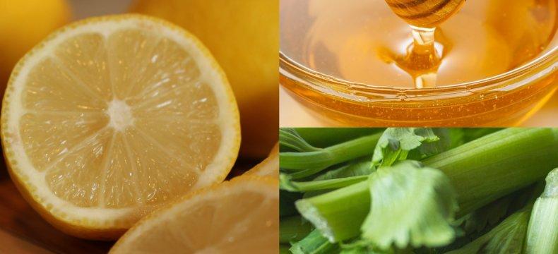Лечебная смесь лимона, мёда и сельдерея: от чего это средство, полезные свойства